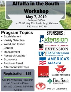 Alfalfa in the South Workshop Flyer – Final | Southeast